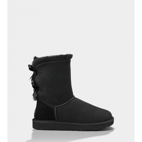 АКЦИЯ! UGG BAILEY BOW BLACK HOT