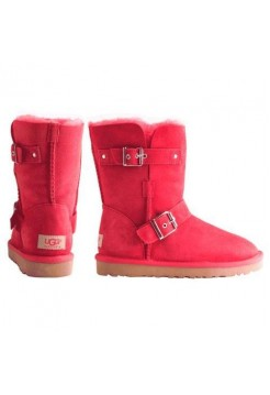 UGG Classic Short Clasp Red (М-447)
