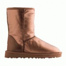 UGG Classic Short LEATHER Gold (М478)