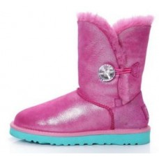 UGG Bailey Button Bling Розовый