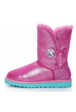 UGG Bailey Button Bling Розовый