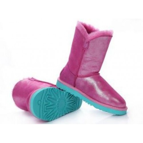 UGG Bailey Button Bling Розовый (S625)