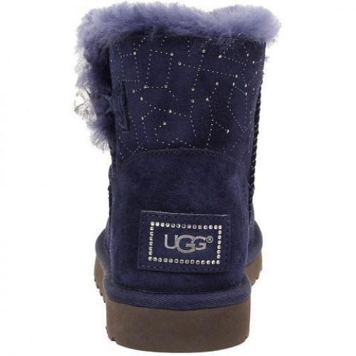 UGG Bailey Button Mini Constellation Созвездия Синие