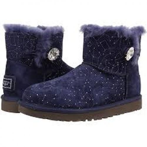 Купить UGG Bailey Button Mini Constellation Созвездия Синие в Украине