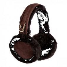 Купить Наушники UGG DOUBLE U LOGO EARMUFFS CHOCOLATE в Украине
