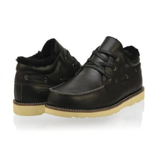 UGG Ботинки кожа Черные