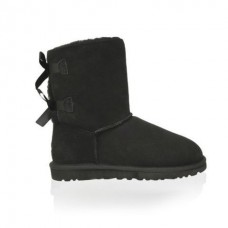 UGG Baby Bailey Bow Black