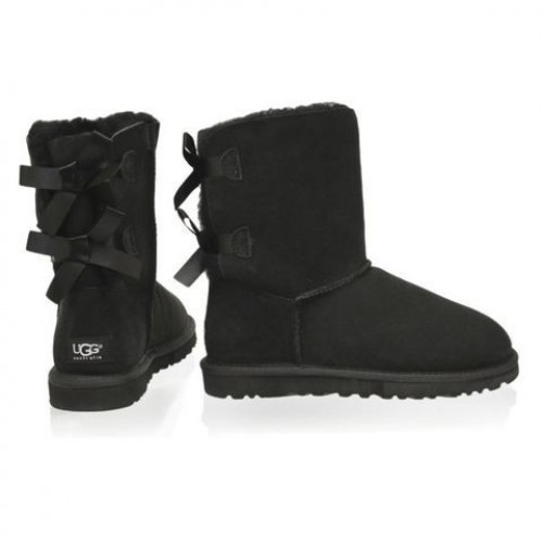 Детские угги UGG Baby Bailey Bow Black