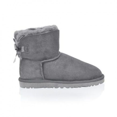 Купить UGG Mini Bailey Bow Grey в Украине