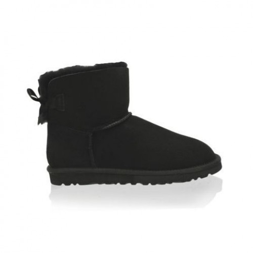 Купить UGG Mini Bailey Bow Black в Украине