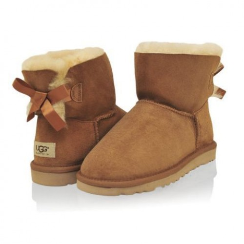 UGG Mini Bailey Bow Chestnut (М131)