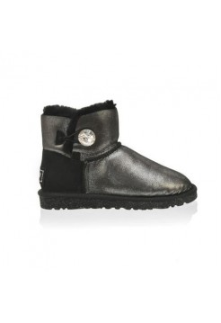 Купить UGG Bailey Button Mini Bling Glitter Black В Украине