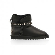 Купить UGG Classic Mini Renn Metallic Black в Украине