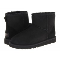 Акция! UGG Classic Mini Black HOT