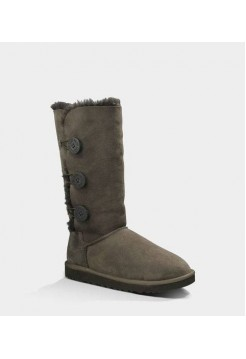Купить АКЦИЯ! UGG BAILEY BUTTON TRIPLET Chocolate HOT В Украине
