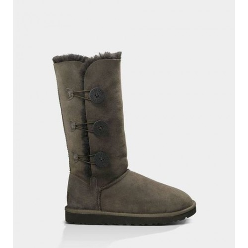 АКЦИЯ! UGG BAILEY BUTTON TRIPLET Chocolate HOT