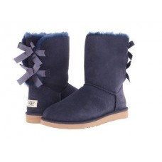UGG Bailey Bow Navy (U211)