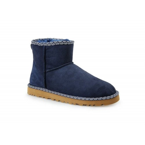 Купить UGG Classic Mini Liberty Navy в Украине