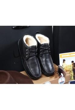 UGG Ботинки мужские кожа
