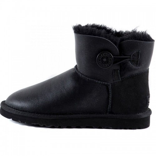 UGG Bailey Button Mini Bomber Black