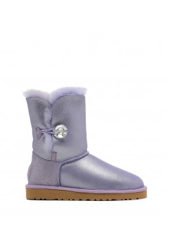 UGG Bailey Button I DO! Purple (EO622)