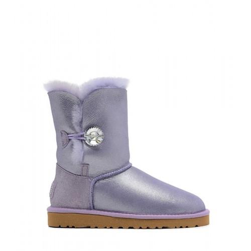 Купить UGG Bailey Button I DO! Purple в Украине