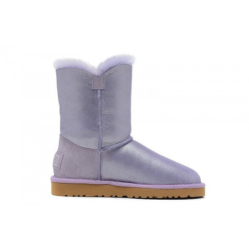 UGG Bailey Button I DO! Purple