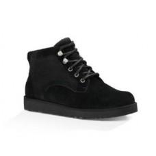 UGG Ботинки Шнуровка Черные (S236)