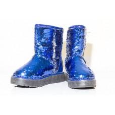 Угги CLASSIC BLUE SPARKLES