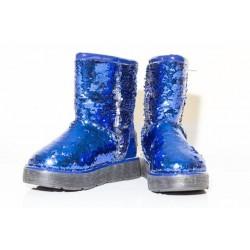 Угги CLASSIC BLUE SPARKLES (Н-631)
