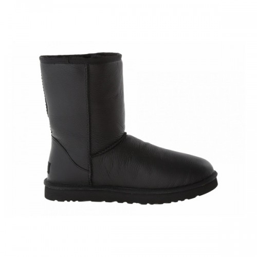 Купить UGG Baby Classic II Leather Black в Украине