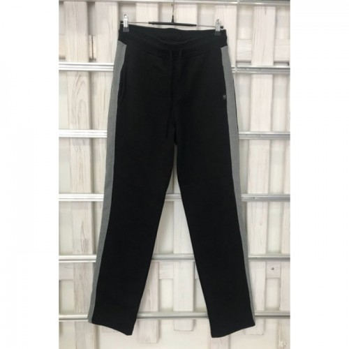 Купить Мужские брюки UGG Australia черные с серыми лампасами в Украине