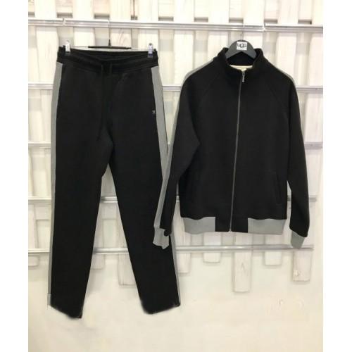 Купить Мужской костюм UGG Australia Черный-Серый в Украине