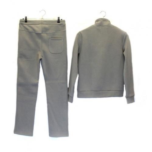 Мужской теплый костюм UGG Australia светло-серый, реглан на пуговицах