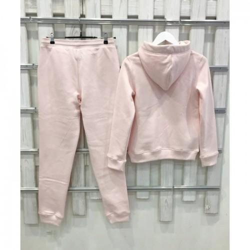 Теплый костюм UGG Australia Print Tall Neck Hoodie Pink, бледно-розовый, высокая горловина