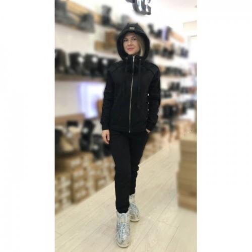 Купить Теплый костюм UGG Australia Zip Merino Black Черный на молнии в Украине