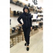 Купить Теплый костюм UGG Australia Zip Merino Dark Blue Темно-синий на молнии в Украине