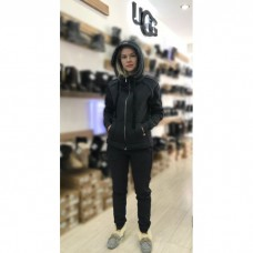 Теплый костюм UGG Australia Zip Merino Gray Серый на молнии