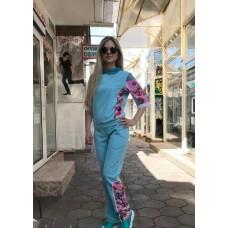 Купить Женский летний прогулочный костюм Colors of California бирюзовый в Украине