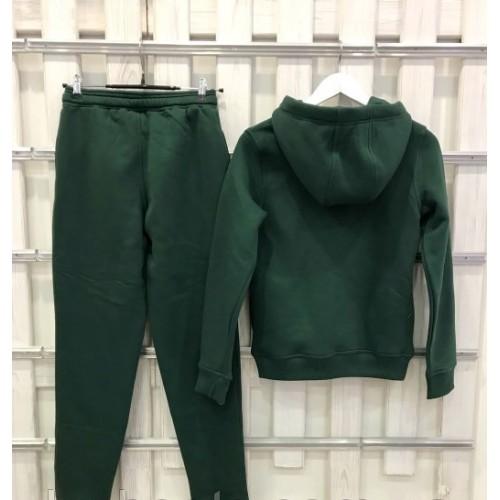 Теплый женский костюм от UGG Australia Print Classic Neck Hoodie Green, зеленый
