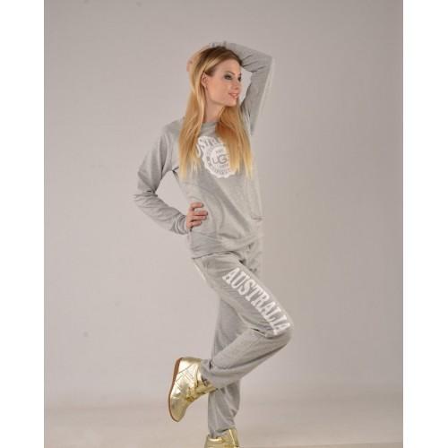 Женский костюм UGG Australia Светло-серый