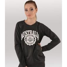 Купить Женский свитшот UGG Australia темно-серый в Украине