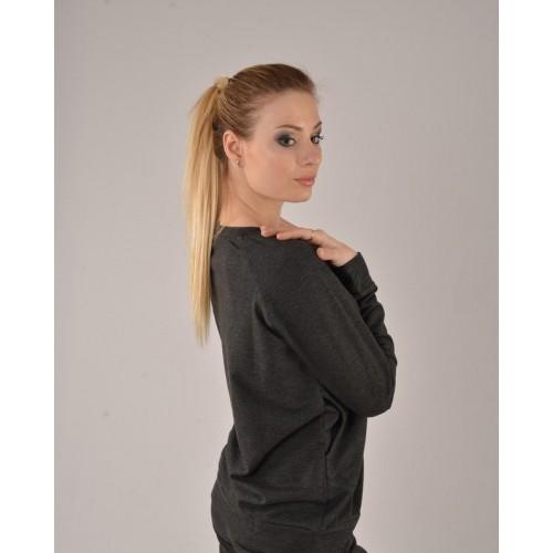 Женский свитшот UGG Australia темно-серый