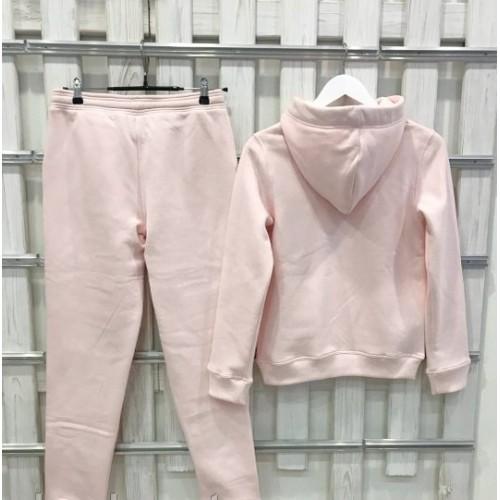 Женский костюм UGG Australia Print Tall Neck Hoodie Pink