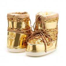 Купить Луноходы-сноубутсы Сhiara Ferragni Gold в Украине