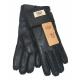 Купить Перчатки мужские UGG дубленка Черные в Украине