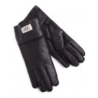 Купить Перчатки UGG Leather Black Gloves в Украине