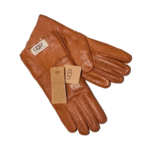 Купить Перчатки UGG Leather Chestnut Gloves в Украине