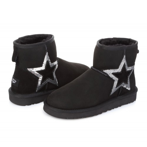 UGG Classic Mini Star Black