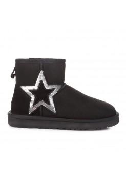 Купить UGG Classic Mini Star Black В Украине